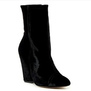 Shellys London Velvet Boots